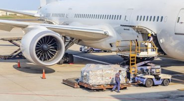 Envío carga aérea